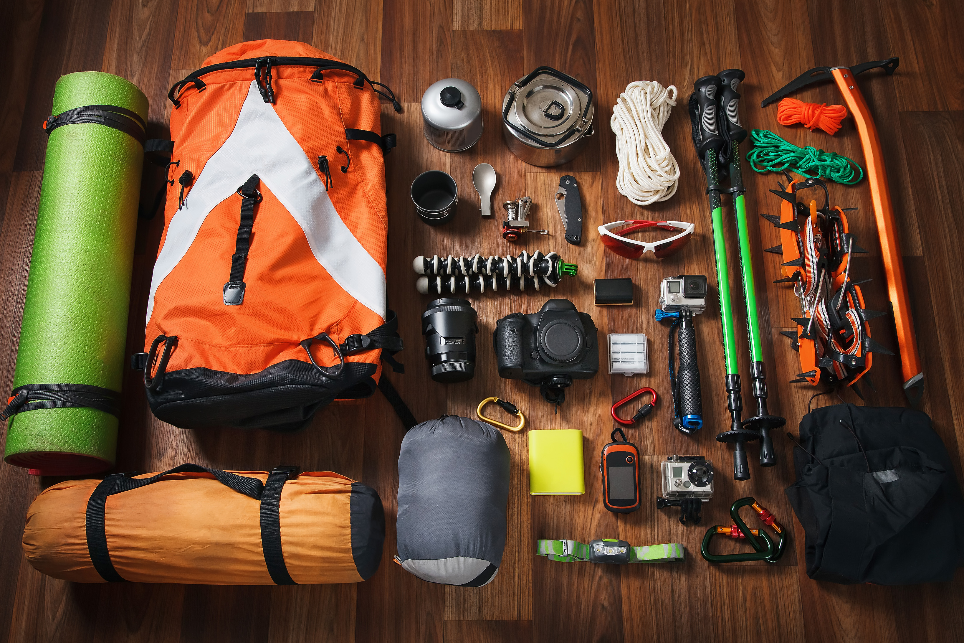 Learn about the mountain gear our experts recomend for your next climb.