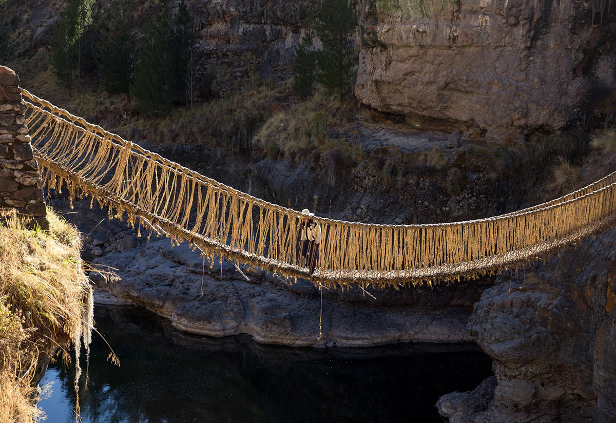 Thumbnail of Ancient Andean engineering: the amazing suspension bridges of the Inca Empire